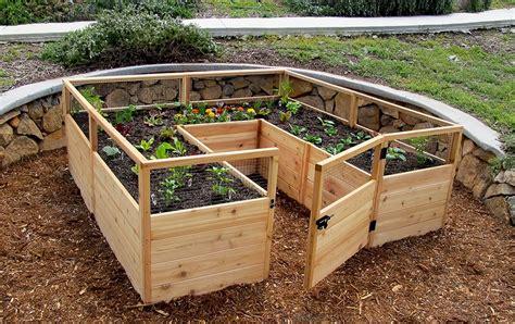 raised garden bed kit    outdoor living today