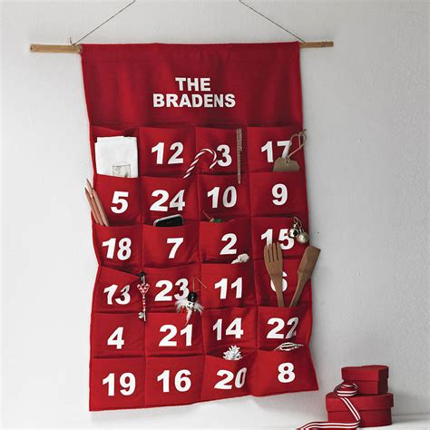 advent calendar personalised advent calendar by minna s room