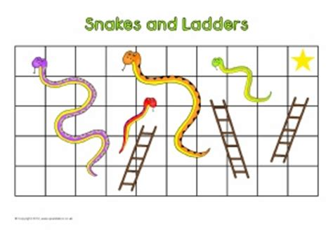 make your own snakes and ladders template editable primary classroom flash cards sparklebox