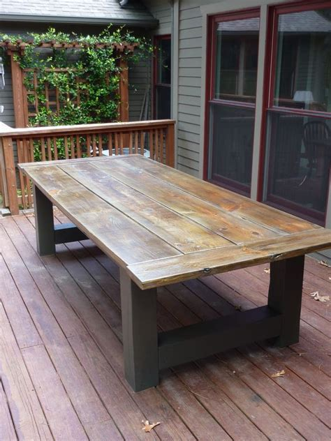 build  outdoor dining table building  outdoor