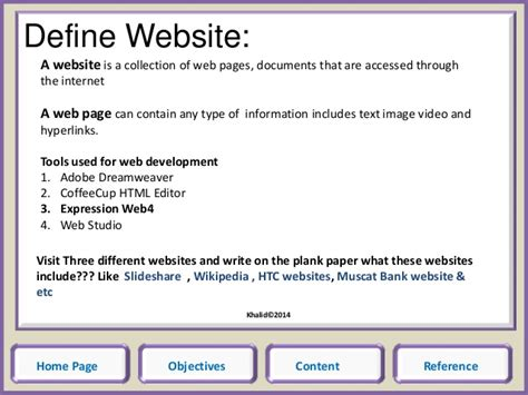 format html expression web how to write reference of website