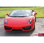 Lamborghini Gallargo Spyder Gloss Red Wrap