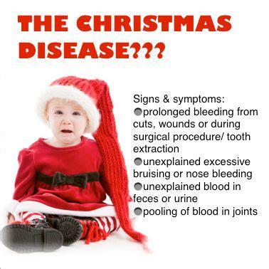 hemophilia christmas disease