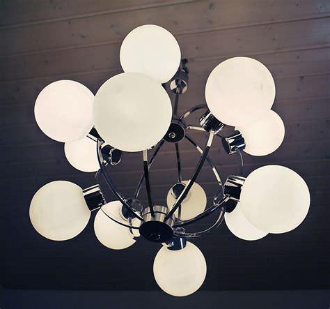 atomic light werteloberfell gbr 12 glass globe atomic lamp sputnik chandelier space age