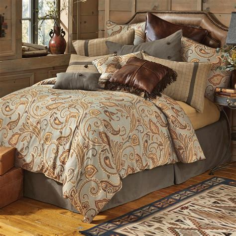 Rustic Comforter Western Bedding Sundance Spring Bedding Collection Lone