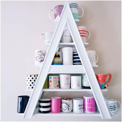 Jual Rak Dapur Unik 4 inspirasi rak unik di untuk memajang gelas dan mug di