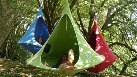 hanging tree house designs cacoon hanging treehouse for all ages