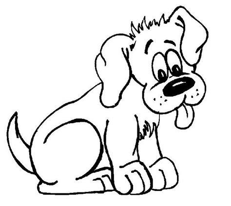 imagenes para colorear un perro descargar dibujo de un perro para colorear en casa fotos