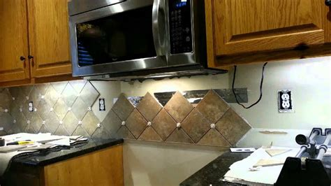 how to add backsplash backsplash behind stove youtube