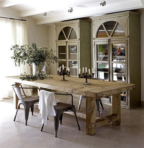 rustic dining room table bring natural scheme into home decorations with rustic