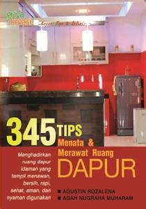 Buku Ruang Dapur 345 tips menata merawat ruang dapur toko buku penebar