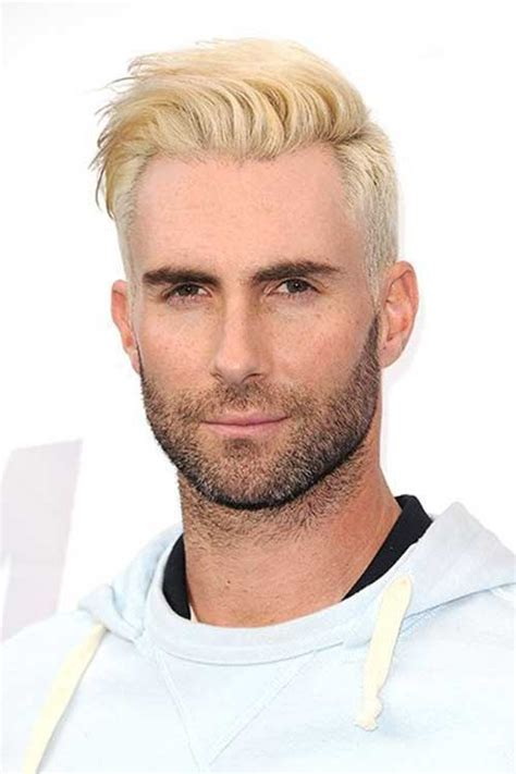 mens hairstyles dyed blonde 30 best hair color for men mens hairstyles 2018