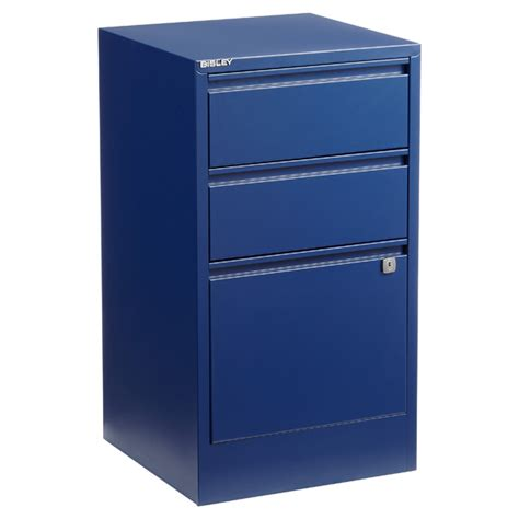 Bisley 3 Drawer Filing Cabinet Oxford Blue Bisley 2 3 Drawer File Cabinets The Container Store