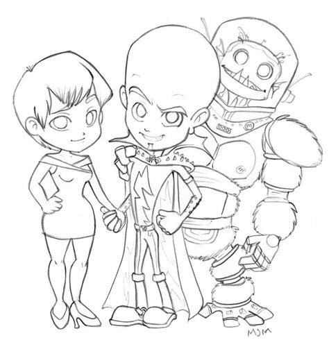 Megamind 43 Animation Movies Printable Coloring Pages Megamind Coloring Pages Printable