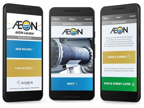 app design nottingham radius systems aeon locator android and web app