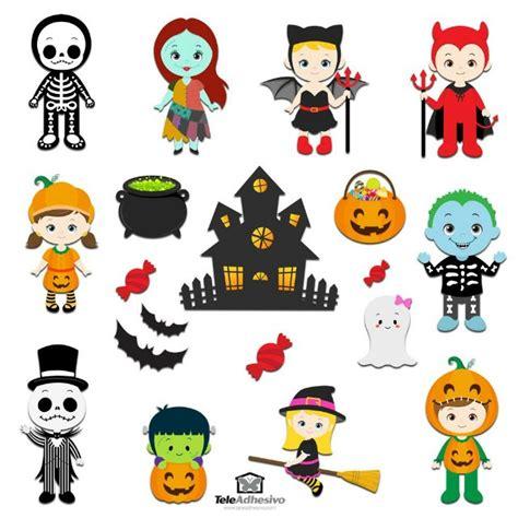 imagenes de halloween infantiles decorar halloween con vinilos infantiles decoideas net
