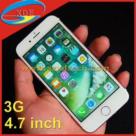 Hp Iphone 4 Inch copy iphone 7 4 7 inch smart phone 3g xd i7 apple