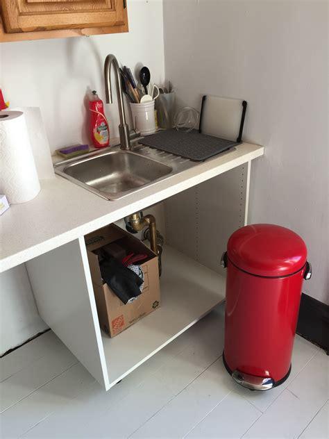 temporary kitchen sink home decorating interior design