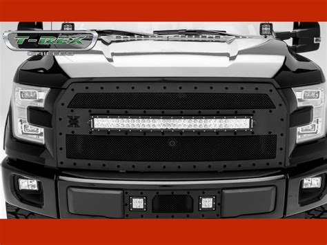 Ford F150 Led Light Bar by 2015 2016 Ford F150 Stealth Torch Series Built In Led Light Bar