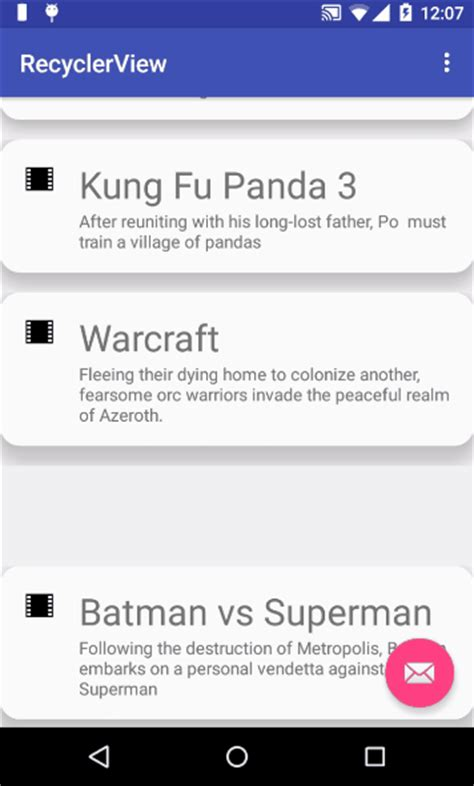 recyclerview layout animation mastering complex lists with the android recyclerview