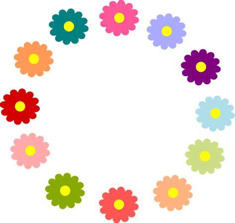 spring wreath clipart transparent clipground