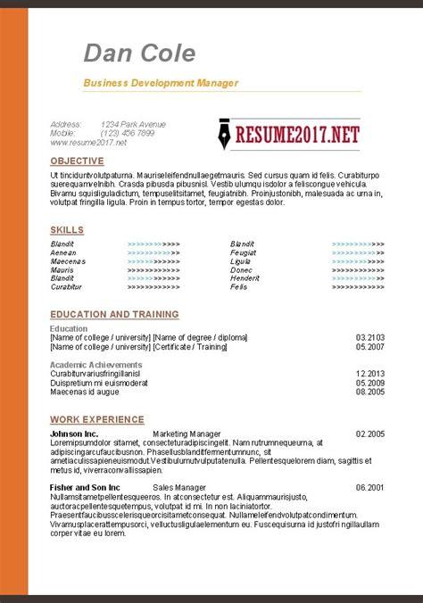 microsoft word resume formatting tips free resume templates 2017 resume builder