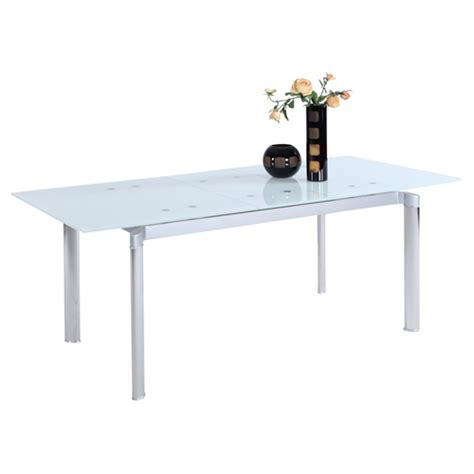 Pop Up Dining Table Tara Pop Up Extension Dining Table Starphire Dcg Stores