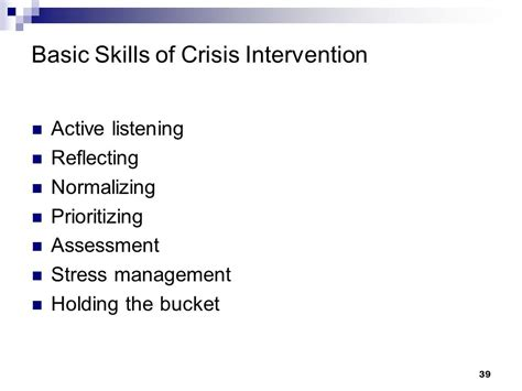 Does A Pfa Show On A Background Check The Basic Skills Of Disaster Behavioral Health Ppt