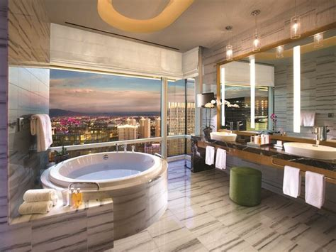 Walk In Shower Baths 20 of the most luxurious hotel bathrooms in vegas