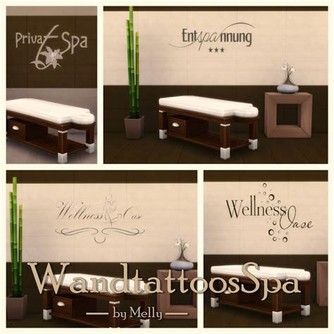 Set Melly Cc 11 Best Sims 4 Exercise Room Spa Images On