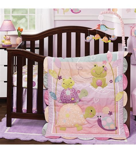Lambs And Crib Bedding by Lambs Puddles 4 Crib Bedding Set