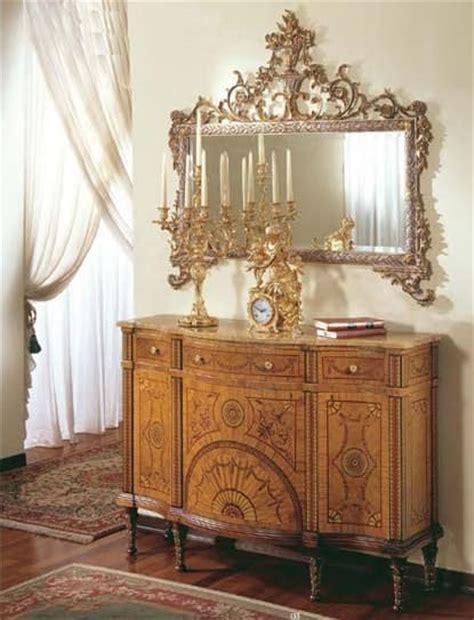 arredo ingresso classico consolle classica di lusso con radica di mirto e ulivo