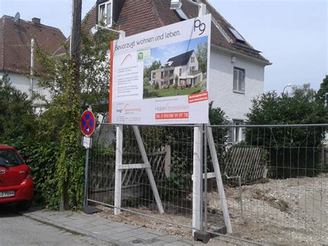 Bauschild Werbeanlage by Bautafel M 252 Nchen Diesignwerker Werbeanlagen