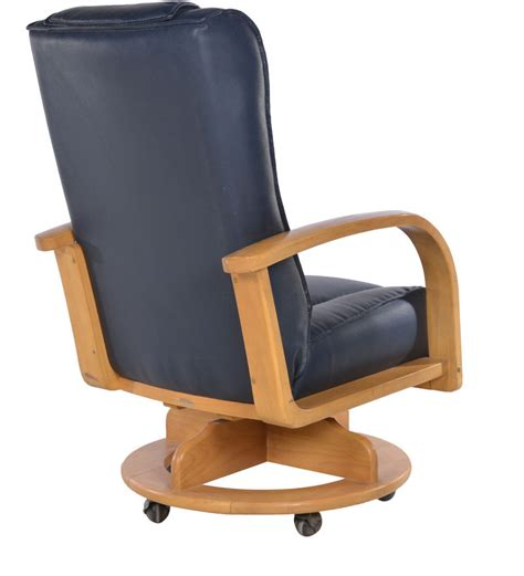 Japanese Chair by Japanese Chair Revolving In Brown Colour By Penache