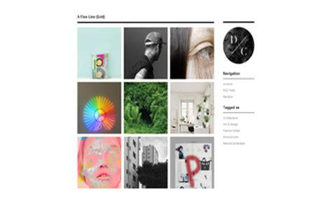 tumblr themes network a fine line grid tumblr