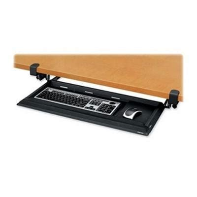 Fellowes Designer Suites Desk Ready Keyboard Drawer Crc80383 by Keyboard Tray Staples