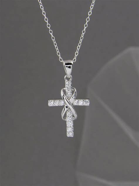 infinity cross necklace best 25 infinity cross necklaces ideas on