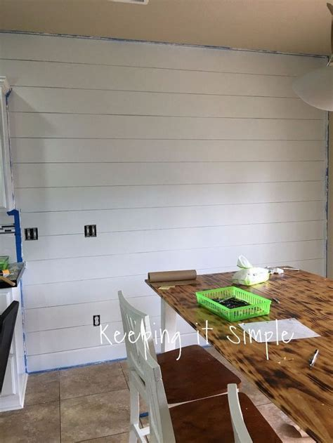 How To Create A Shiplap Wall How To Build A Shiplap Wall For 75 Hometalk