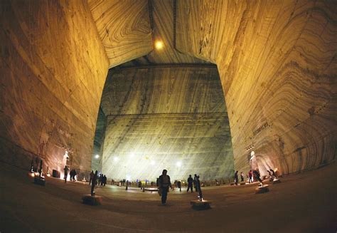 salt mines quotes biggest largest salt mine europe slanic prahova eastern