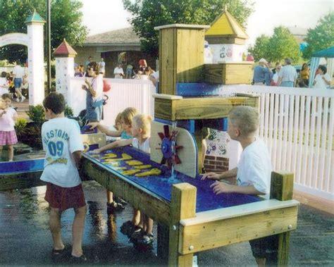 Outdoor Water Table by Meyer Design Playground Equipment Portfolio
