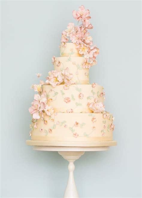 Wedding Cake Floral by Wedding Cakes Rosalind Miller Cakes Uk