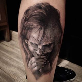 small scary tattoos 25 beautiful horror tattoos ideas on horror