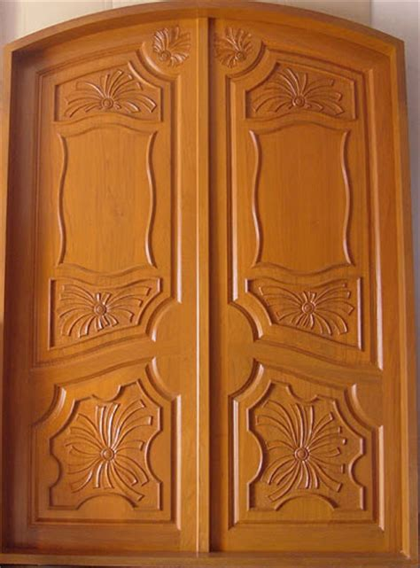 Wood Front Door Designs Wood Design Ideas New Kerala Model Wooden Front Door Door Designs