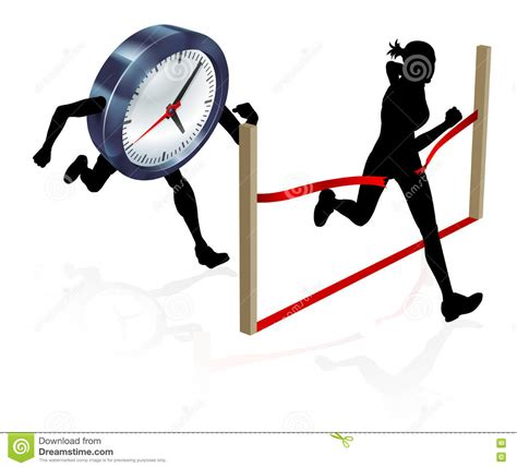 a portfolio to achieve success at the races books racing against the clock vector cartoondealer
