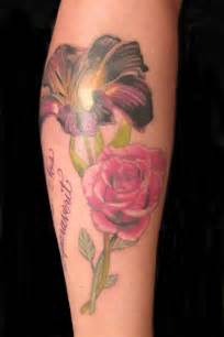 lily and rose tattoos 46 best stargazer designs images on