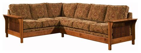 Arts And Crafts Style Sofa by Arts Crafts Craftsman Sectional Sofas Los Angeles