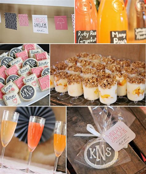 theme wedding shower menu bridal shower brunch theme ideas bridal shower brunch ideas for the delicious menu