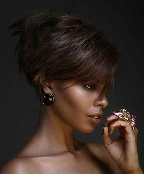 black hair edgy haircuts short hairstyles for black women sexy natural haircuts