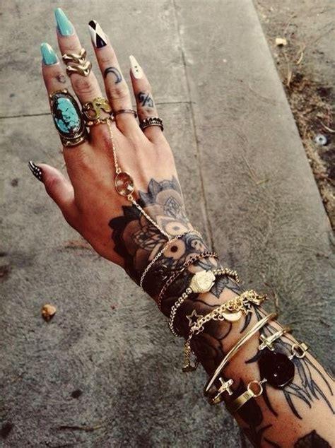 tattoo hand woman hand tattoo women tattoo pinterest stiletto nails