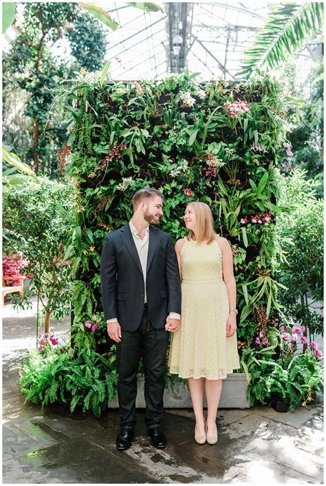 dc botanical garden engagement dc wedding photographer 4